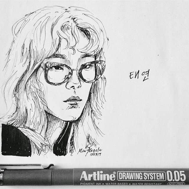 Bút vẽ kỹ thuật EK-2305