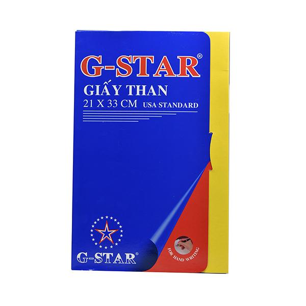 Giấy than G-Star 21×33 CP-G01 xanh