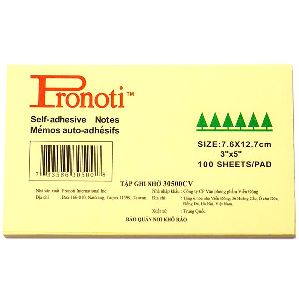 Giấy note Pronoti 3×5 N-PR05