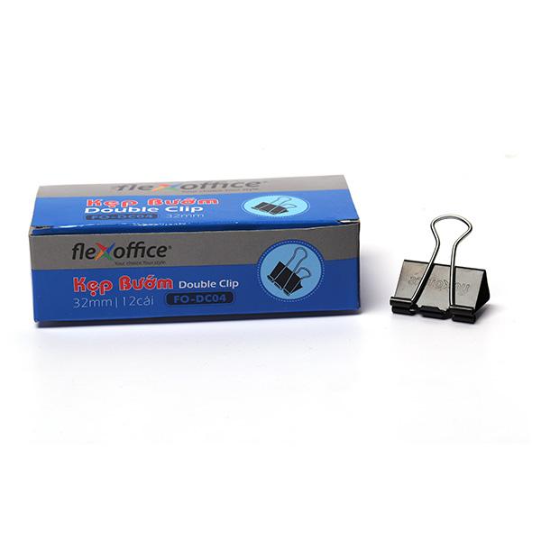 Kẹp bướm Thiên Long – Flexoffice 32mm FO-DC04